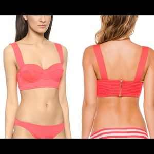 NWT kate spade Georgica Beach Bralette Bikini Top
